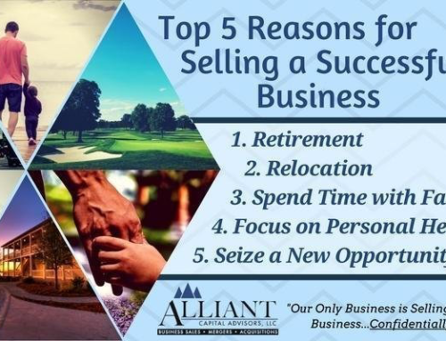 5 Top Reasons for Selling a Successful Business